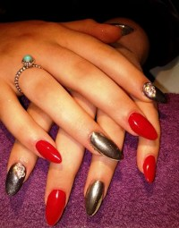 Free Images : hand, finger, manicure, nail polish ...