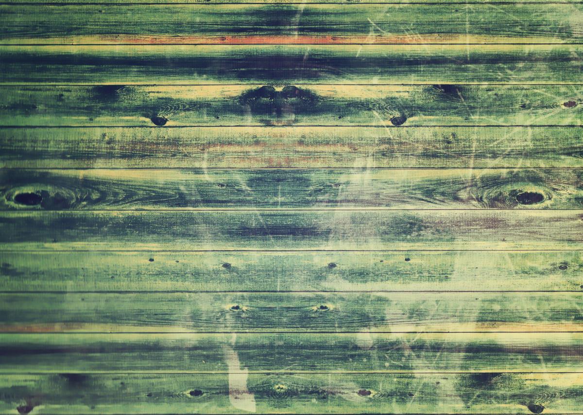 Gambar  hitam dan putih kayu tekstur dinding koran
