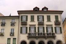 European Villa Balcony