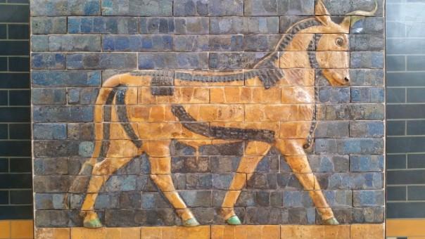 Gambar  binatang menyusui jerapah mosaik lukisan