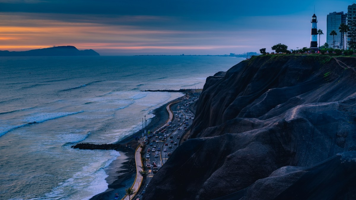 Rain Wallpaper Hd Free Images Sea Coast Water Ocean Horizon