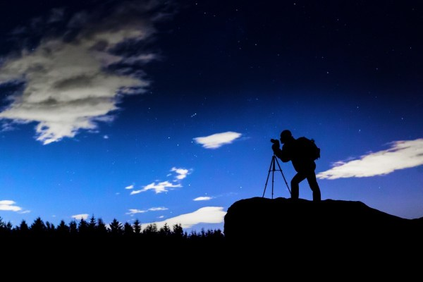 Night Silhouette Photography