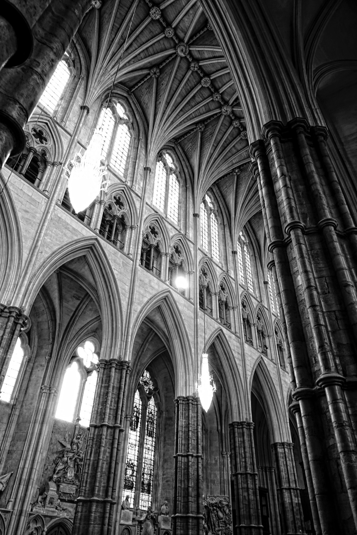 cathedral architecture gothic arches diagram usb host cable wiring free images black and white perspective building