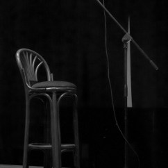 Chair Mic Stand For Barbie Free Images Music Black And White Night Concert