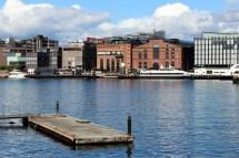 Free Dock Boat Skyline Building City
