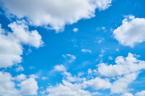 Free Landscape Nature Horizon Cloud White Sunlight Texture Summer Daytime