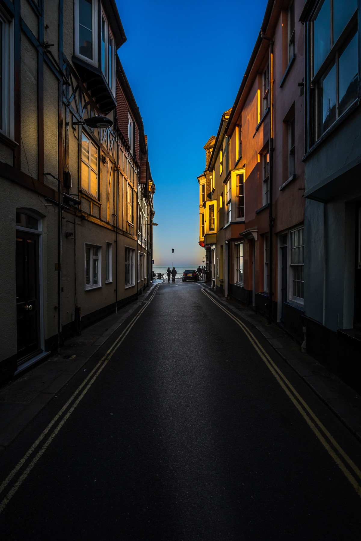 Free Images  light road street night alley evening