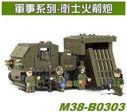 【積木城市】小魯班積木 軍事系列-衛士火箭隊 B0303 特價380 - 露天拍賣