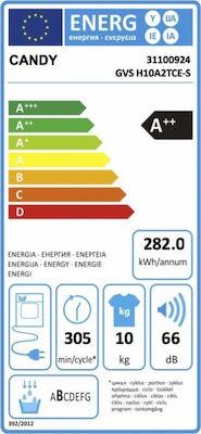 Candy GVS H10A2TCE-S με Αντλία Θερμότητας 10kg A++ - Skroutz.gr