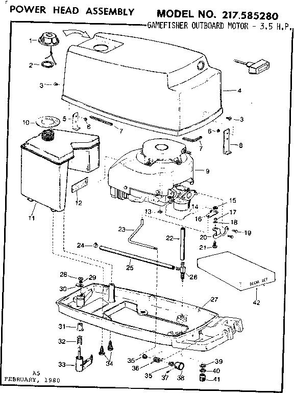 Eska Outboard Motor Parts Diagram Eska Outboard Motor