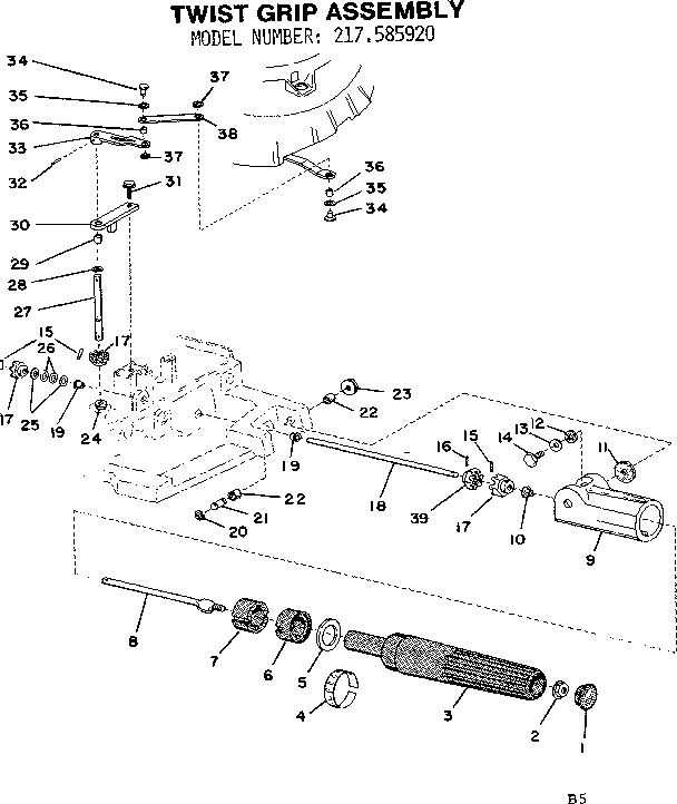 Motor Parts: Gamefisher Outboard Motor Parts