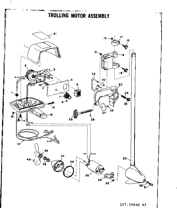 36 Volt Trolling Motor Diagram, 36, Get Free Image About