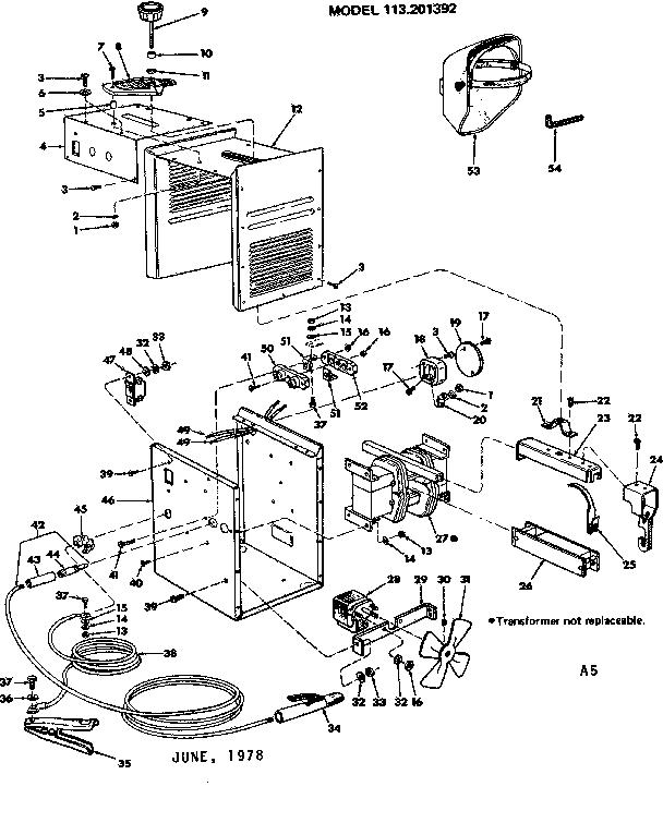 Century Mig Welder Parts Diagram Welder Equipment Diagram