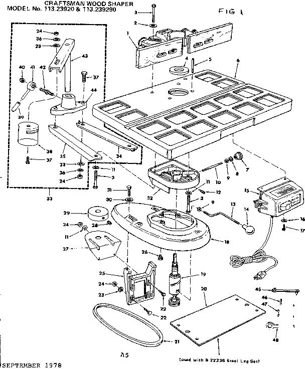 Craftsman Wood Shaper Manual