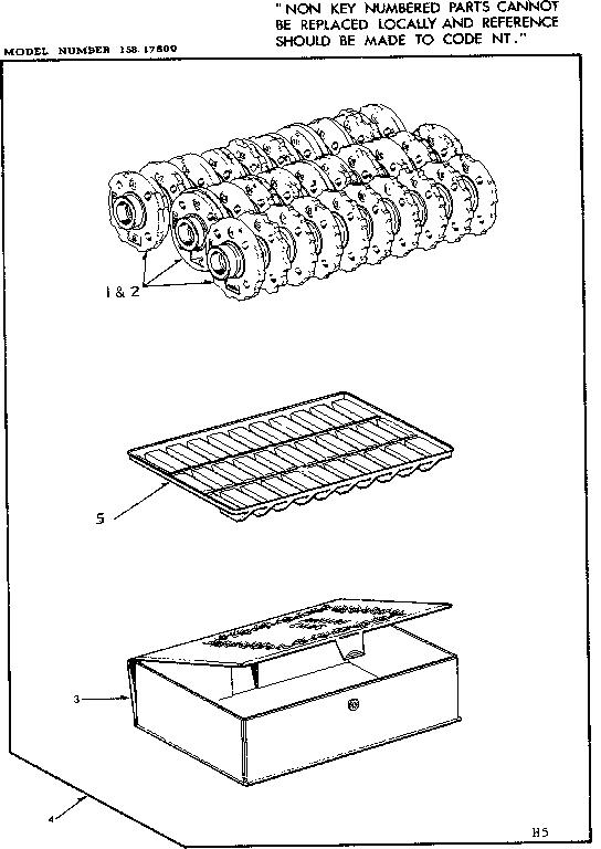 PATTERN DISC Diagram & Parts List for Model 15817600