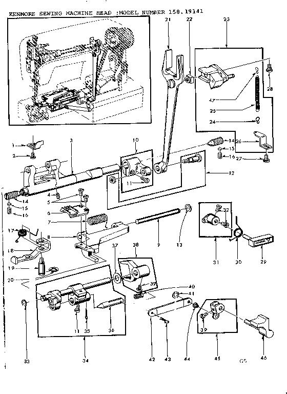 FEED REGULATOR ASSEMBLY Diagram & Parts List for Model