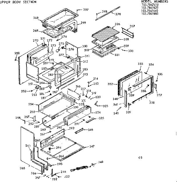 Kenmore Oven: Kenmore Oven Range Parts