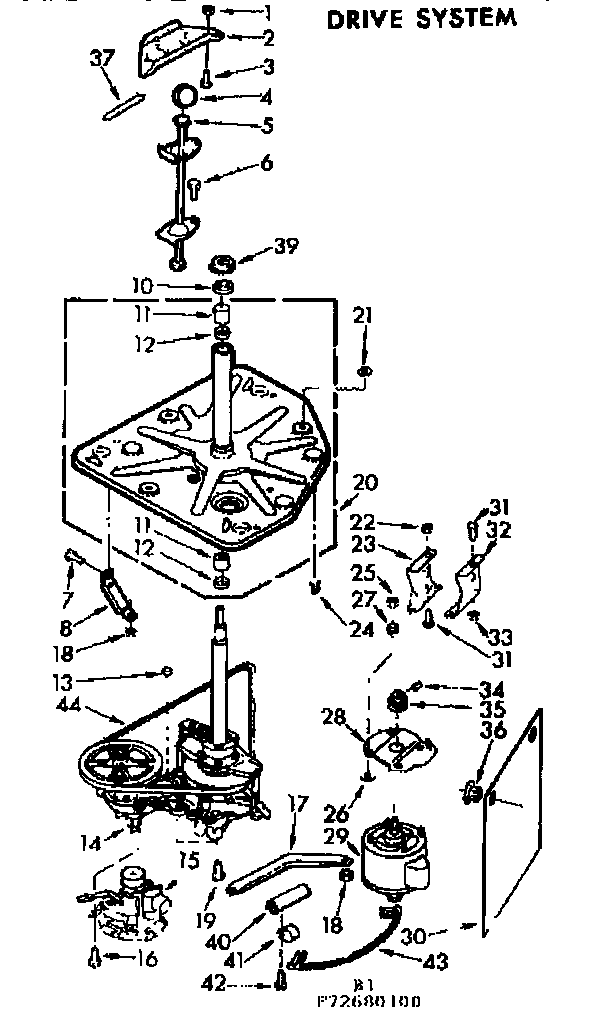 Kenmore Automatic Washer Tub and basket assembly Parts