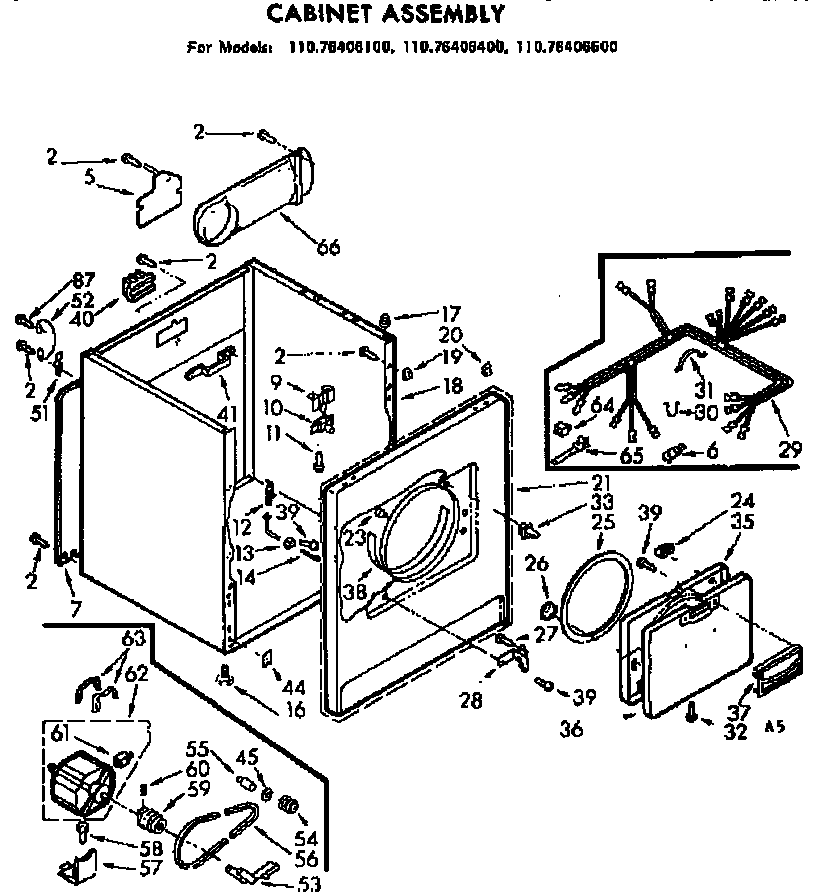 Fancy Wiring Diagram For Kenmore Dryer Image Collection