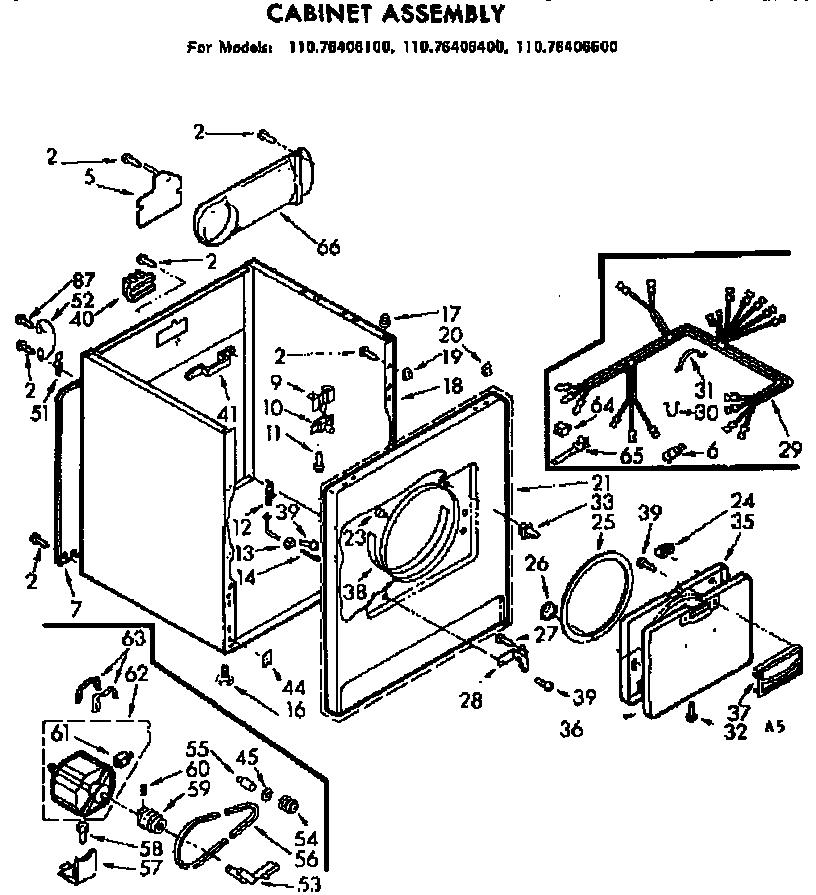 Sears Kenmore Dryer Wiring Diagram