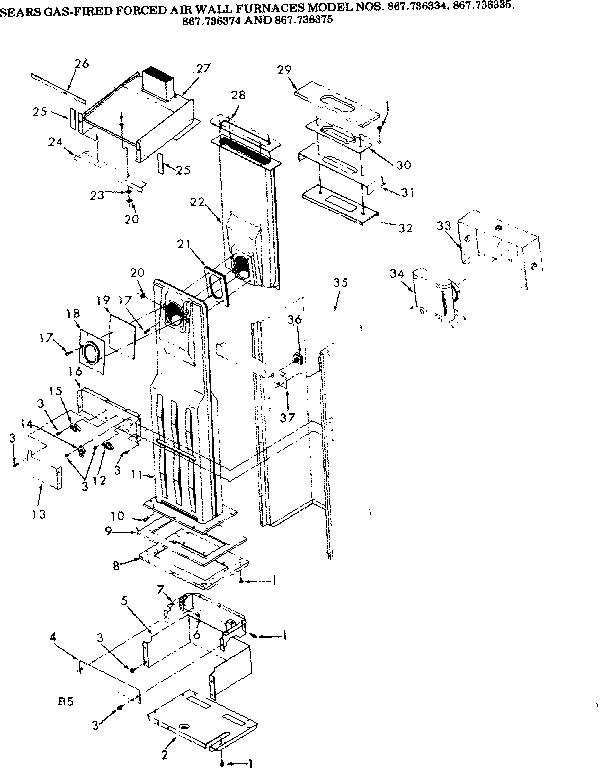 Wall Furnace: Kenmore Wall Furnace
