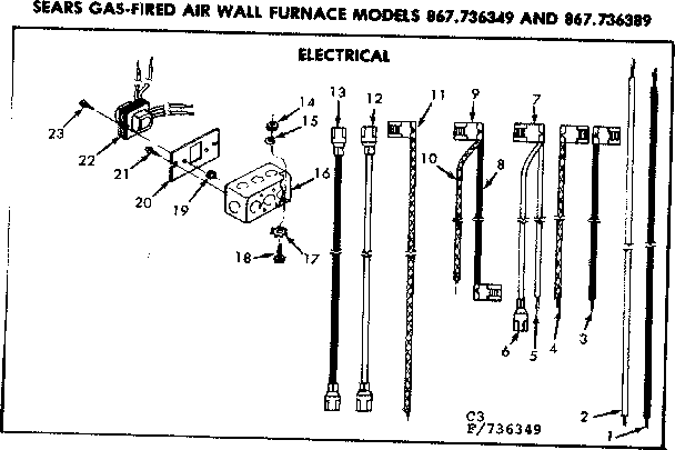 Forced Air: Sears Forced Air Furnace