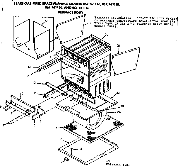 Furnaces: Sears Furnaces