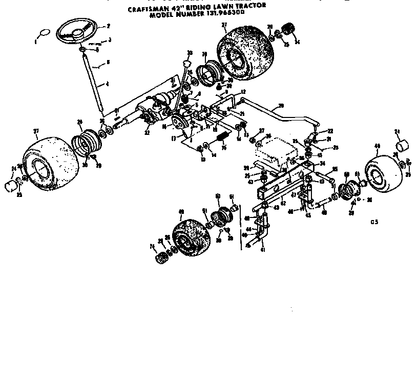 Rear Axle Diagram, Rear, Free Engine Image For User Manual