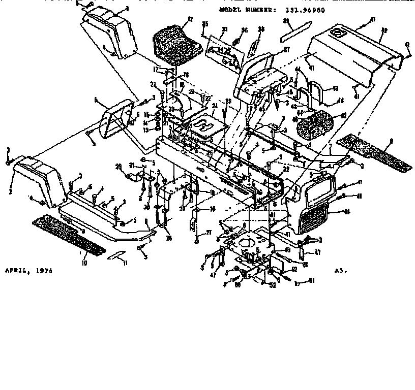 Diagram Craftsman Model 917270671 Lawn Diagram Schematic Circuit