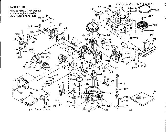 Lawn Mower Carburetor Parts Diagram Names, Lawn, Free