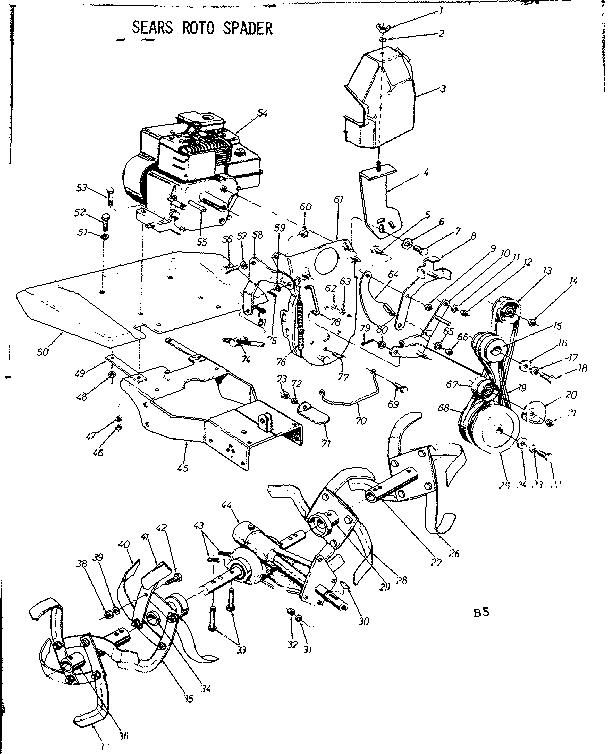 ENGINE Diagram & Parts List for Model 247296650 Craftsman