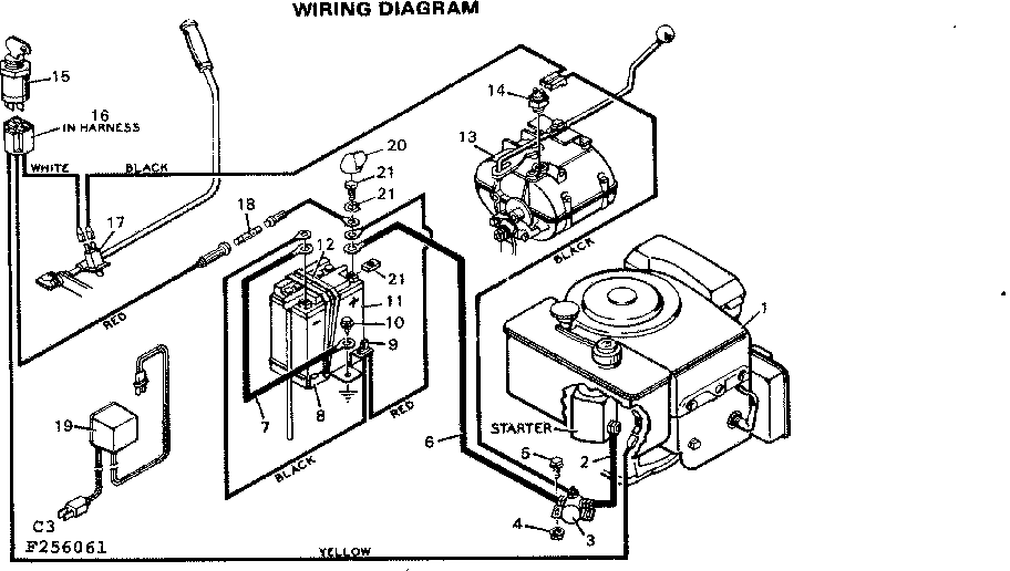 WIRING DIAGRAM Diagram & Parts List for Model 502256061