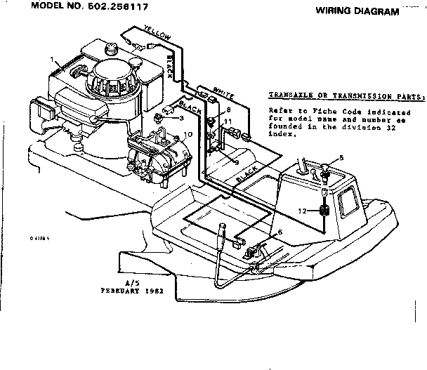 craftsman lawn mower wiring diagram