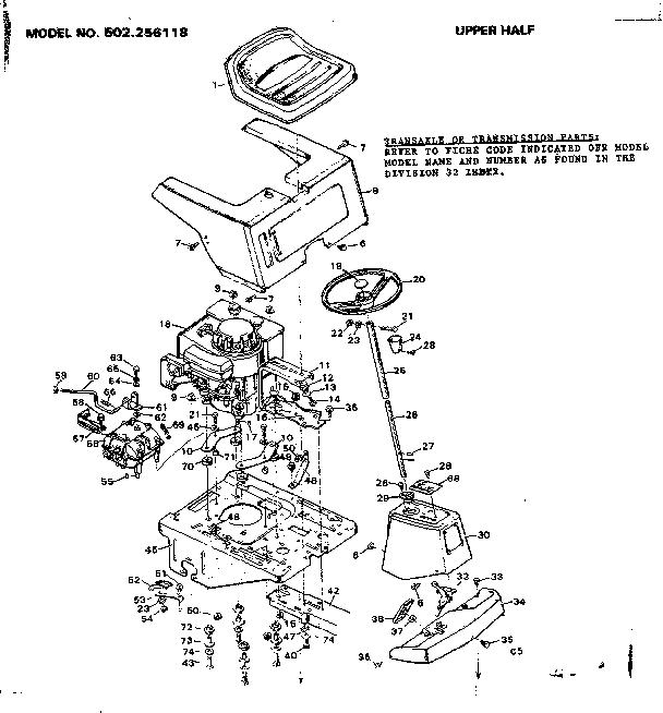 Dynamark Riding Mower Wiring Diagram