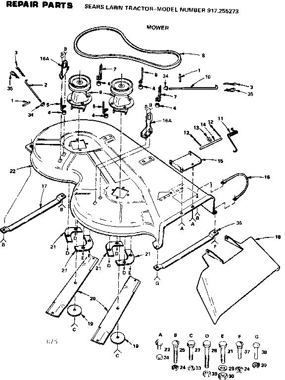 Kubota T1760 Mower Parts Diagram Within Kubota Wiring And