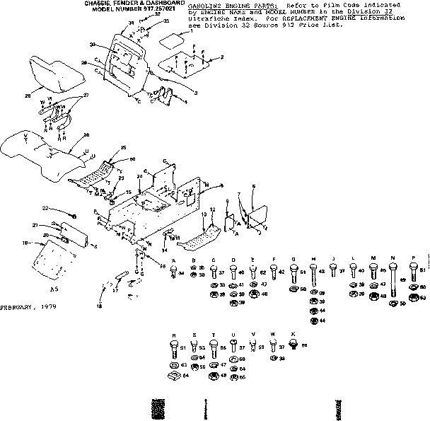 CRAFTSMAN SEARS VARIDRIVE GT 11 GARDEN TRACTOR Parts