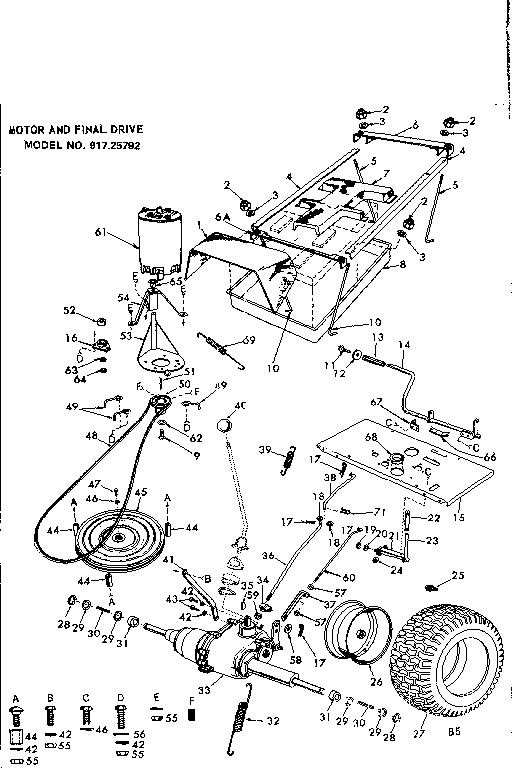 60 Swisher Pull Behind Mower Parts Diagram, 60, Free