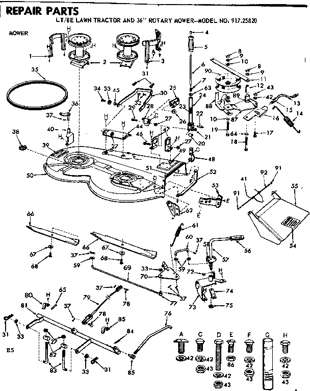 1440 Cub Cadet Electric Wiring Diagram Cub Cadet 108