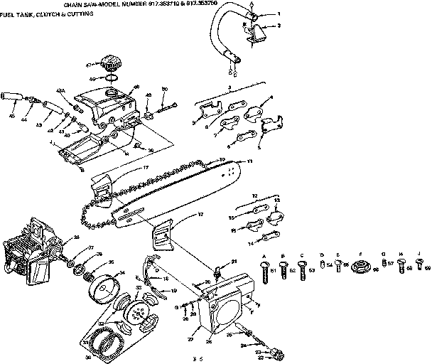 Craftsman chainsaw parts on Shoppinder