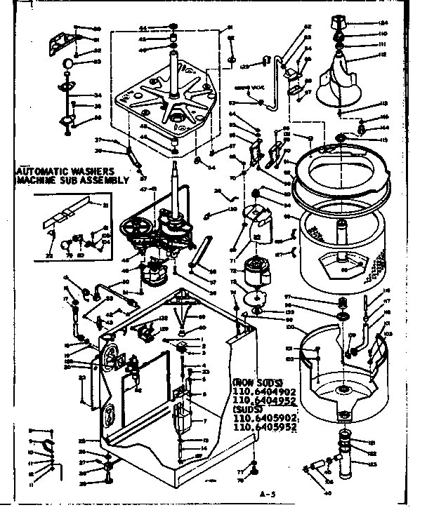 kenmore 90 series dryer parts diagram clarion radio wiring code free for you model 1106405952 residential washers genuine rh searspartsdirect com