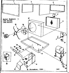 looking for kenmore model 76981126 central air conditioner repair central air conditioner parts diagram [ 976 x 1024 Pixel ]