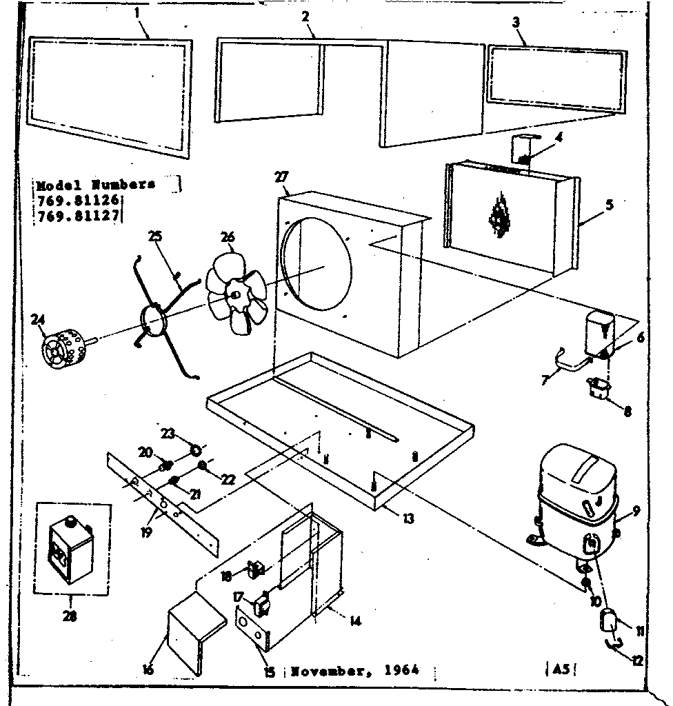 hight resolution of looking for kenmore model 76981126 central air conditioner repair central air conditioner parts diagram