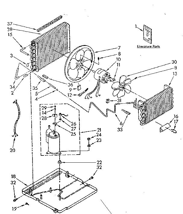 Window Air Conditioner: Kenmore Window Air Conditioner Parts