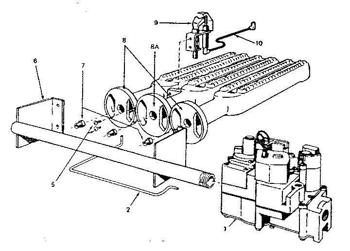 Steam Boiler: Kenmore Gas Steam Boiler