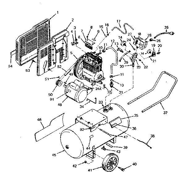Sanborn 60 Gallon Air Compressor Wiring Diagram Sanborn 80
