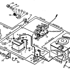 Sears Lt1000 Wiring Diagram Bedford Tj Craftsman Riding Lawn Mower Schematic For Engine
