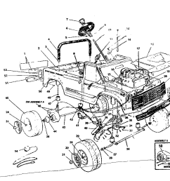 power wheels pp3200b replacement parts diagram [ 1024 x 874 Pixel ]