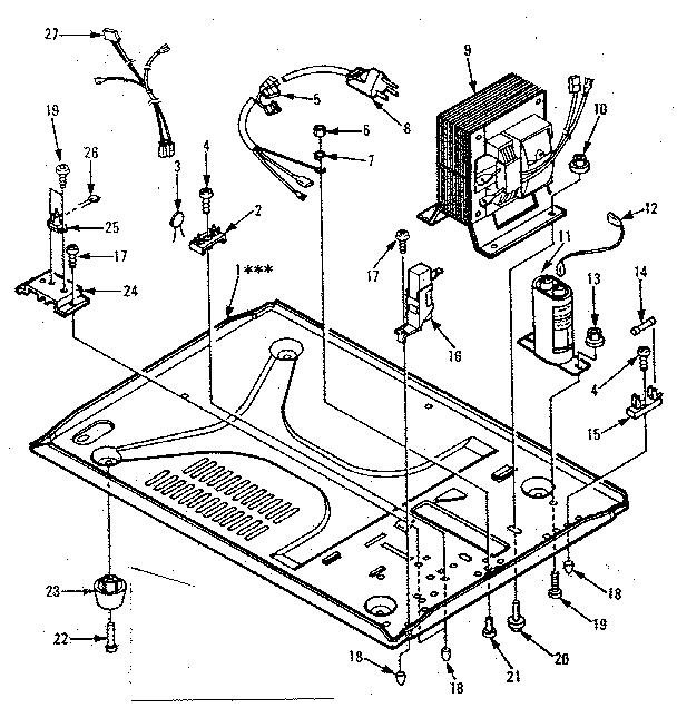 Kenmore Sears kenmore microwave oven
