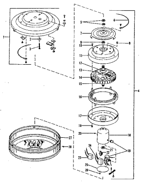 HUNTER HUNTER CEILING FAN Parts | Model 22422 | Sears