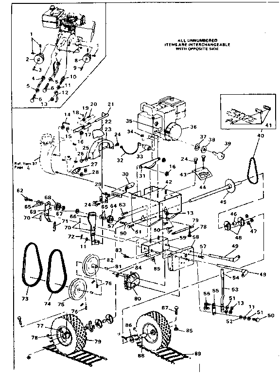 ENGINE Diagram & Parts List for Model 536882502 Craftsman